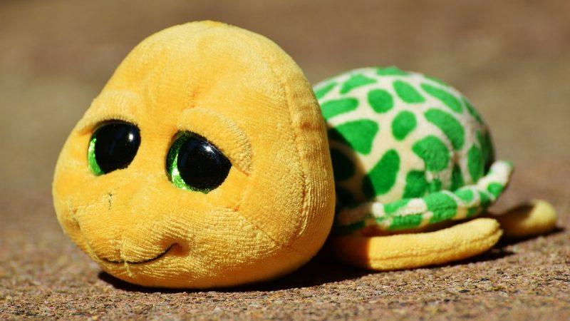 Une peluche tortue géante pour votre enfant